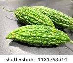 bitter gourd   bitter melon or... | Shutterstock . vector #1131793514