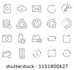simple set of refresh related... | Shutterstock .eps vector #1131800627