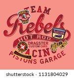 hot rod kids dragster car...   Shutterstock .eps vector #1131804029