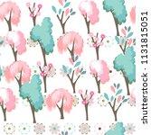 seamless season pattern with... | Shutterstock .eps vector #1131815051