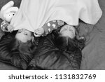 party and fun concept. children ... | Shutterstock . vector #1131832769