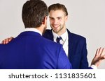 business and friendship concept.... | Shutterstock . vector #1131835601