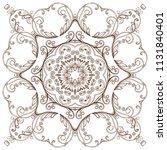luxury circular oriental...   Shutterstock .eps vector #1131840401