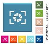camera aperture setting white... | Shutterstock .eps vector #1131841844