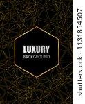 luxury  flyer  brochure  card... | Shutterstock .eps vector #1131854507