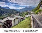 Berchtesgaden mountain resort - stock photo