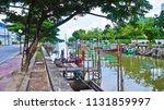 relax in the evening near bang... | Shutterstock . vector #1131859997