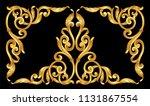 Gold Vintage Baroque Frame...