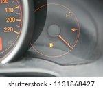 fuel warning light on car... | Shutterstock . vector #1131868427