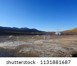 an overall view of geysers... | Shutterstock . vector #1131881687