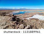 salar de tara and andes... | Shutterstock . vector #1131889961