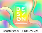 summer colorful background... | Shutterstock .eps vector #1131893921