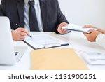 bribery and corruption concept  ...   Shutterstock . vector #1131900251