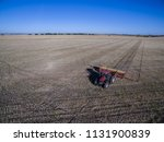 tractor and seeder  direct... | Shutterstock . vector #1131900839