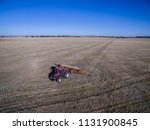 tractor and seeder  direct... | Shutterstock . vector #1131900845