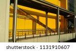 yellow building wall | Shutterstock . vector #1131910607