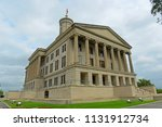 tennessee state capitol ... | Shutterstock . vector #1131912734