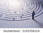 challenge and success concept.... | Shutterstock . vector #1131926114