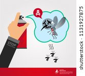 stop denque fever vector   Shutterstock .eps vector #1131927875