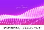 vector abstract violet particle ...