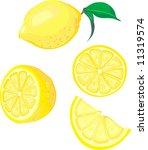 lemon mix   Shutterstock .eps vector #11319574