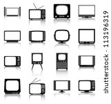 televisions   16 icons ...