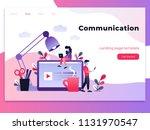 vector ultraviolet gradient... | Shutterstock .eps vector #1131970547