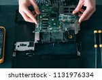 technology microelectronics... | Shutterstock . vector #1131976334