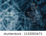from business strategy to great ... | Shutterstock . vector #1132002671