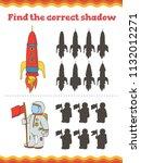 game for preschool children.... | Shutterstock .eps vector #1132012271