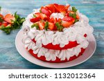 Strawberry And Cream Sponge...
