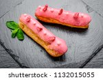 traditional french dessert.... | Shutterstock . vector #1132015055