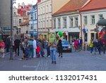 vilnius  lithuania   21 april... | Shutterstock . vector #1132017431