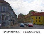 vilnius  lithuania   21 april... | Shutterstock . vector #1132033421