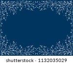 vector framework with frozen...   Shutterstock .eps vector #1132035029