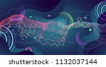 colorful geometric background... | Shutterstock .eps vector #1132037144