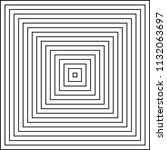 infinite squares. repetition of ... | Shutterstock .eps vector #1132063697