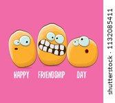 vector friends potato...   Shutterstock .eps vector #1132085411