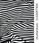 black and white abstract vector ... | Shutterstock .eps vector #1132097504