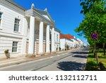 putbus  germany   may 09  2018  ... | Shutterstock . vector #1132112711