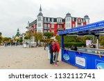 zinnowitz  germany   october 24 ... | Shutterstock . vector #1132112741