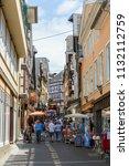 linz am rhein  germany may 31 ... | Shutterstock . vector #1132112759