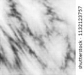 abstract grunge grid polka dot... | Shutterstock .eps vector #1132123757