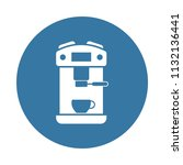 coffee maker icon. element of... | Shutterstock .eps vector #1132136441