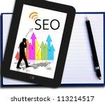 business seo | Shutterstock . vector #113214517