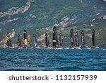 riva del garda lago di garda ...   Shutterstock . vector #1132157939