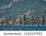 riva del garda lago di garda ...   Shutterstock . vector #1132157951