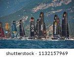 riva del garda lago di garda ...   Shutterstock . vector #1132157969