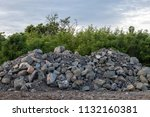 landscape view of many large... | Shutterstock . vector #1132160381