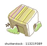 icon building | Shutterstock .eps vector #113219389